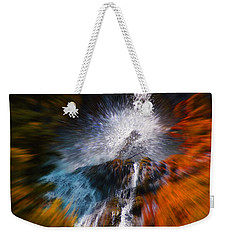 Weekender Tote Bag featuring the photograph Cascade Waterfall by Mick Anderson