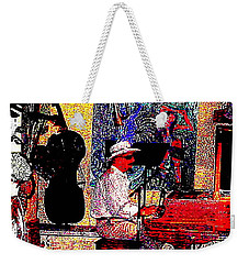 Weekender Tote Bag featuring the photograph Casanova by Sadie Reneau