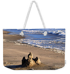 Castle By The Sea Weekender Tote Bag by Linda Mesibov