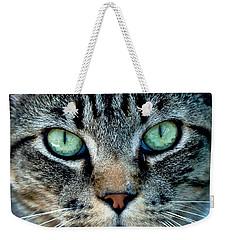 Cat Face Weekender Tote Bag