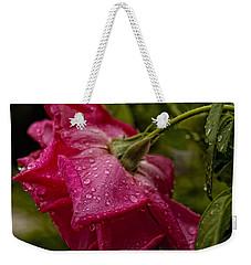 Caught In The Rain Weekender Tote Bag