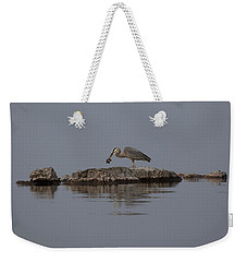Caught One Weekender Tote Bag by Eunice Gibb