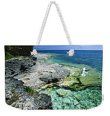 Cave Point Vista Weekender Tote Bag