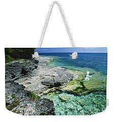 Cave Point Vista Weekender Tote Bag