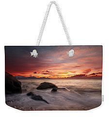 Celtic Sunset Weekender Tote Bag