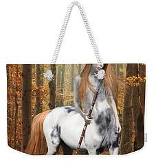 Centaur Series Autumn Walk Weekender Tote Bag by Nikki Marie Smith