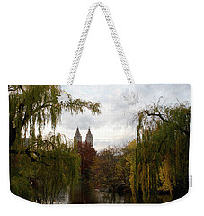 Central Park Autumn Weekender Tote Bag