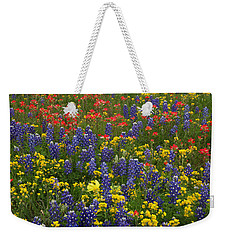 Central Texas Mix Weekender Tote Bag