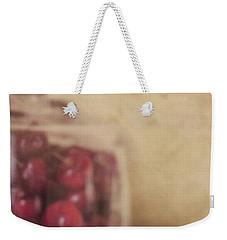 Cerise Weekender Tote Bag