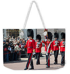 Changing Of The Guard At Buckingham Palace Weekender Tote Bag