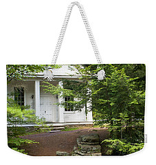 Chapel At Hickory Run State Park Weekender Tote Bag