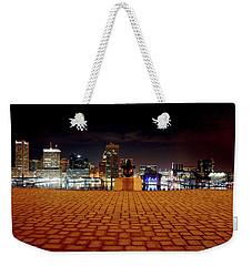Charm City Skyline Weekender Tote Bag