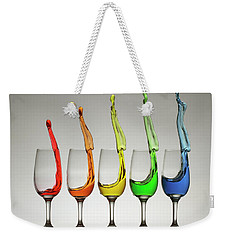Weekender Tote Bag featuring the photograph Cheers X5 by William Lee