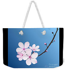Cherry Blossoms Weekender Tote Bag by Rand Herron