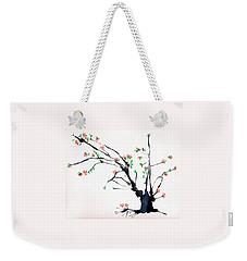 Cherry Tree By Straw Weekender Tote Bag