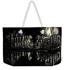 Chess By Candlelight Weekender Tote Bag