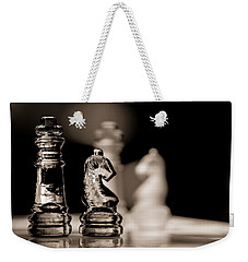 Chess King And Knight Weekender Tote Bag