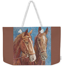 Chestnut Pals Weekender Tote Bag