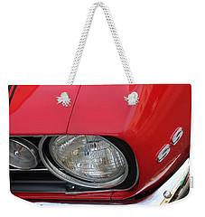 Chevy S S Emblem Weekender Tote Bag by Bill Owen