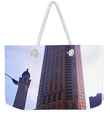 Chicago Building Weekender Tote Bag