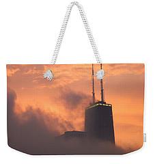 Chicago Dusk Weekender Tote Bag