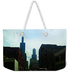Chicago Flow Weekender Tote Bag
