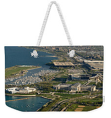Chicagos Lakefront Museum Campus Weekender Tote Bag
