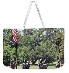 Children Raise The Flag Weekender Tote Bag