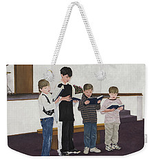 Children Sing Praise Weekender Tote Bag
