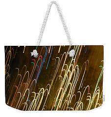 Christmas Card - Candy Canes Weekender Tote Bag