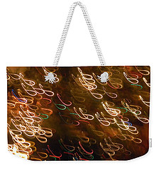 Christmas Card - The Manger Weekender Tote Bag