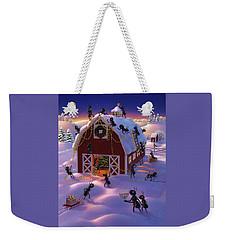 Christmas Decorator Ants Weekender Tote Bag