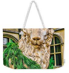 Christmas Lion At Biltmore Weekender Tote Bag