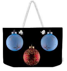 Christmas Ornaments Weekender Tote Bag by Doug Long