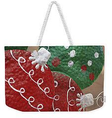 Christmas Ornaments Weekender Tote Bag by Patrice Zinck