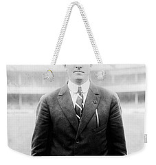 Weekender Tote Bag featuring the photograph Christy Mathewson - Major League Baseball Player by International  Images