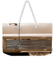 Chrome Weekender Tote Bag by John Schneider