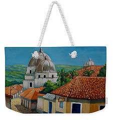 Church Of Pespire In Honduras Weekender Tote Bag