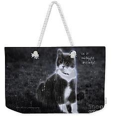 Weekender Tote Bag featuring the photograph Cinderella Fella by Vicki Ferrari