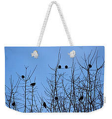 Weekender Tote Bag featuring the photograph Circle Of Friends by Kume Bryant