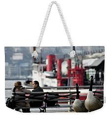 City Geese Weekender Tote Bag