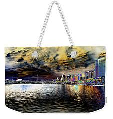 City Of Color Weekender Tote Bag by Douglas Barnard