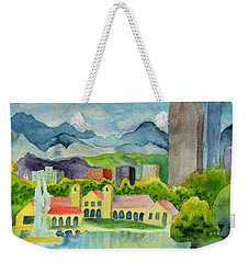 City Park Wonderland Summer Weekender Tote Bag