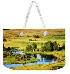 Clark Fork Delta  Weekender Tote Bag by Albert Seger