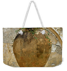 Weekender Tote Bag featuring the photograph Clay Pot by Lainie Wrightson