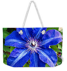 Clematis Weekender Tote Bag by Nick Kloepping