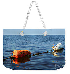 Weekender Tote Bag featuring the photograph Closed by Barbara McMahon