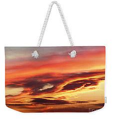 Cloud Face Weekender Tote Bag