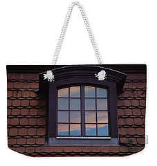 Weekender Tote Bag featuring the photograph Cloud Reflections by Brent L Ander