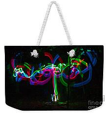 Clouded Weekender Tote Bag